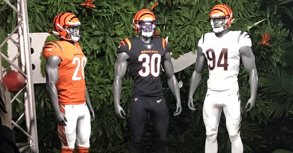 What do you think of Bengals' new uniforms?