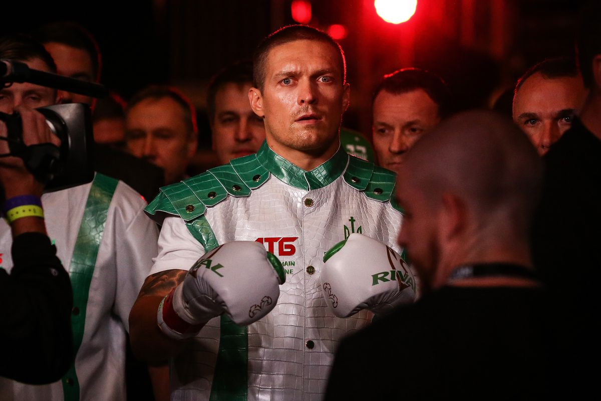 Image result for oleksandr usyk vs witherspoon 2019