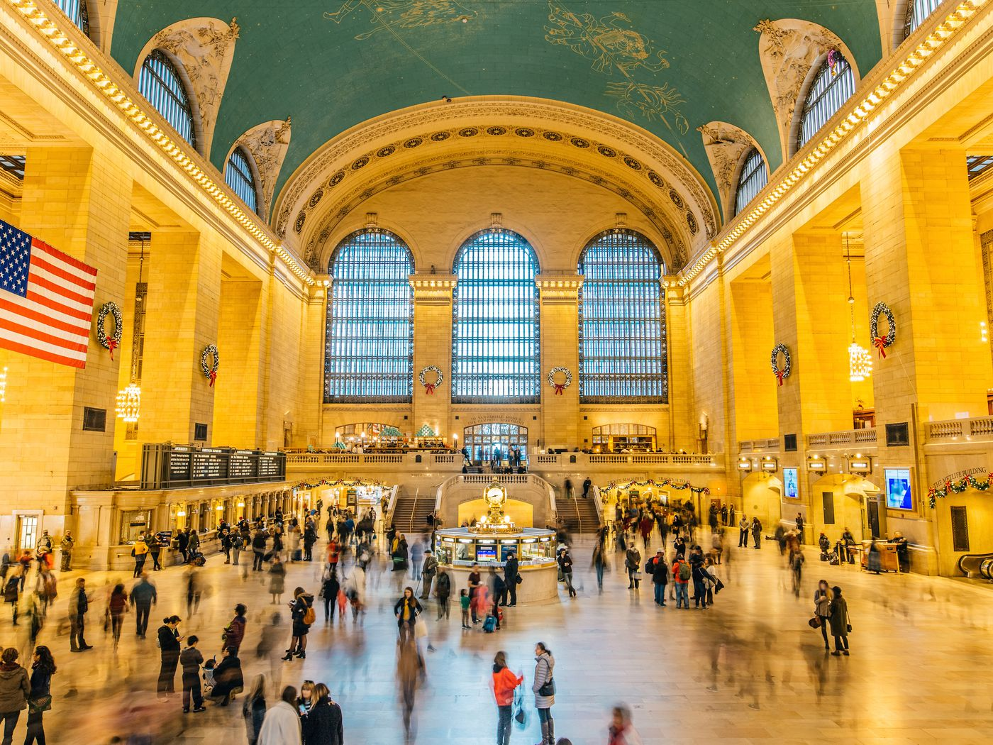 Grand Central Terminal In New York Map Hours Restaurants And