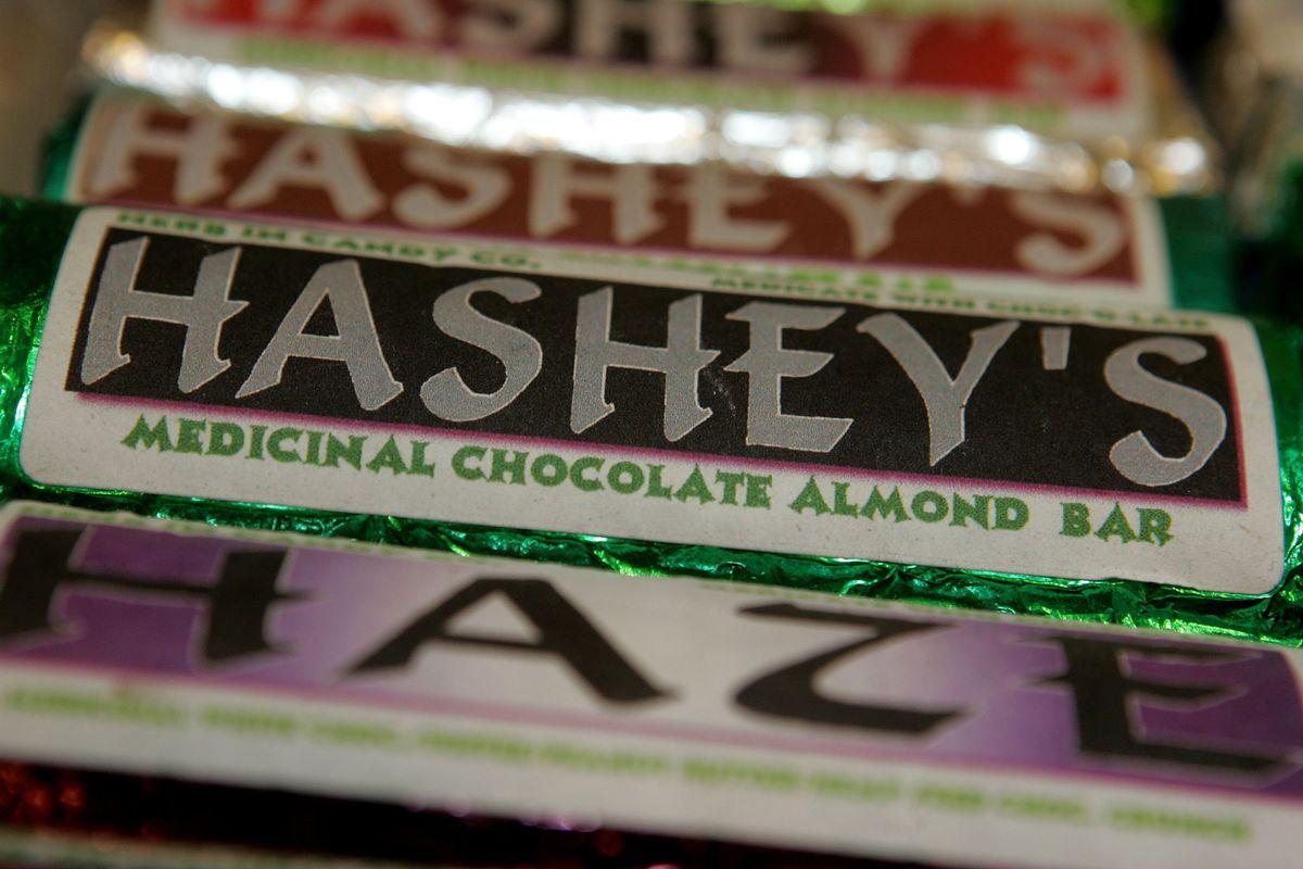 marijuana candy hashey