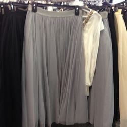 Bailey44 tulle skirt (also in black and cream), $50