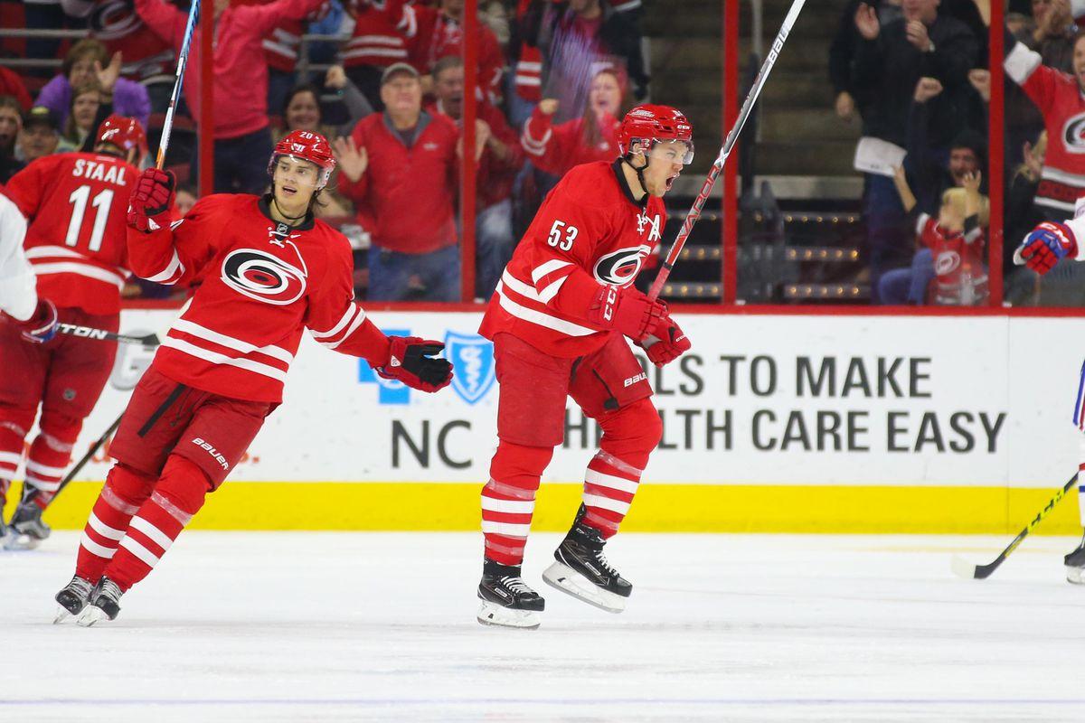 NHL: Montreal Canadiens at Carolina Hurricanes