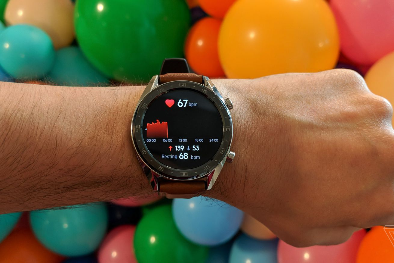huawei s watch gt is a fitness band disguised as a watch and that s great