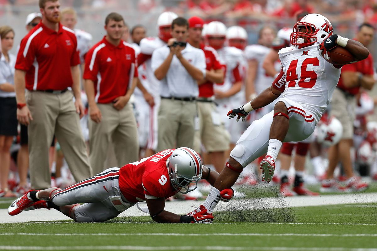 Adam Griffin, then #9,'s career with out Ohio State is likely over.