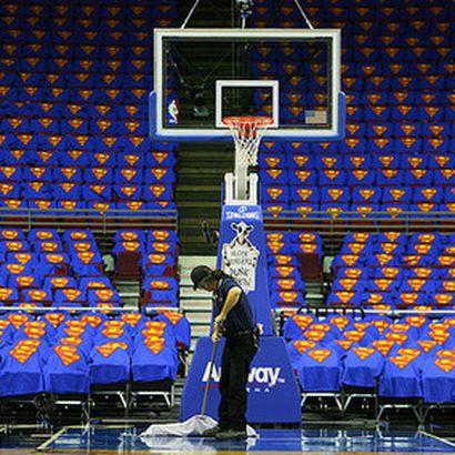 Dwight Howard Superman T Shirts Cover The Seats In Amway Arena Two