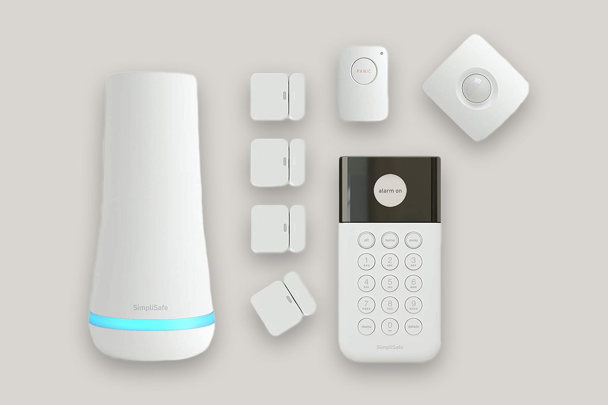 SimpliSafe 8-Piece Wireless Home Security System