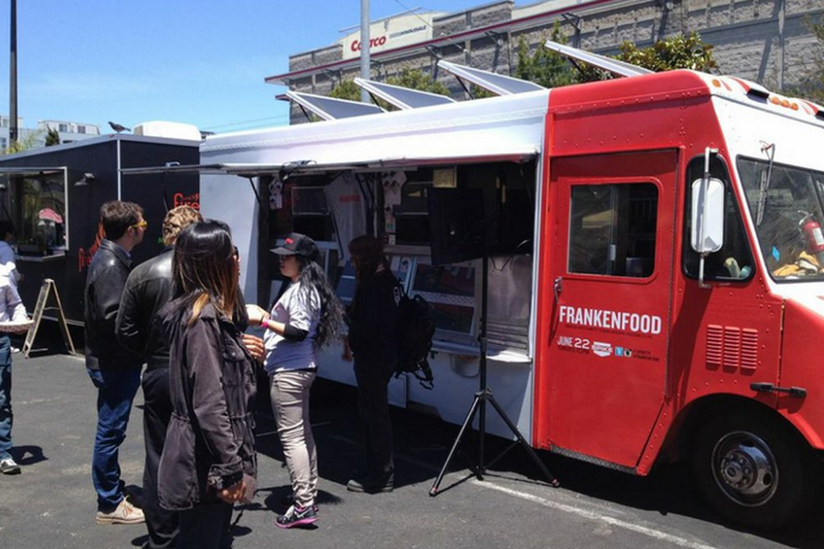 The truck at SOMA StrEat Food yesterday.