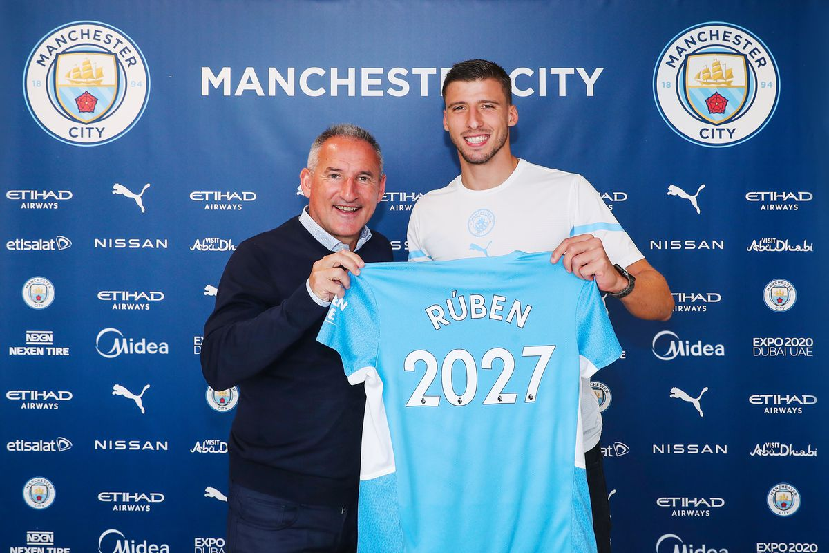 Ruben Dias Signs A Contract Extension At Manchester City