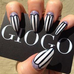Brilliant nail art #1