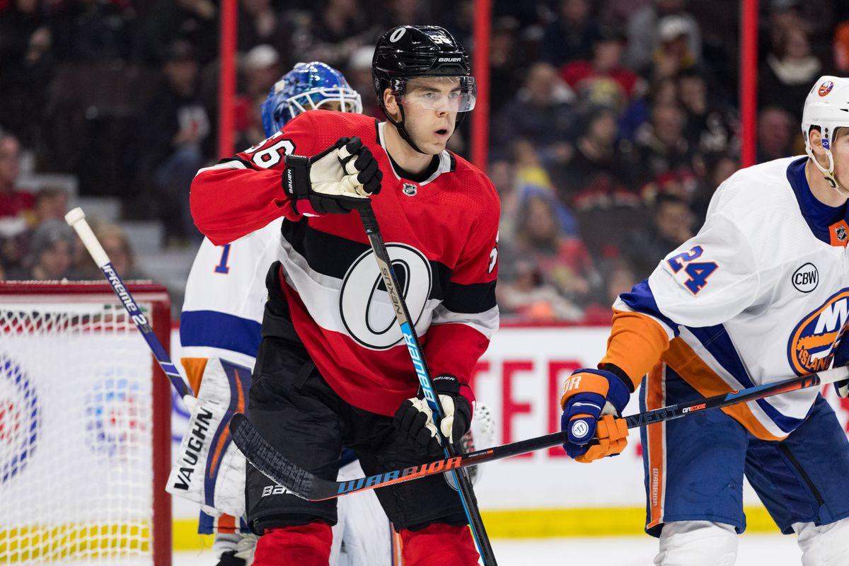 NHL: MAR 07 Islanders at Senators