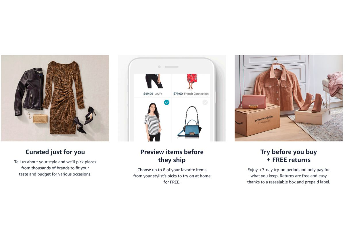 95b729a04 Amazon launches a personal shopper service that sends monthly curated  clothing boxes