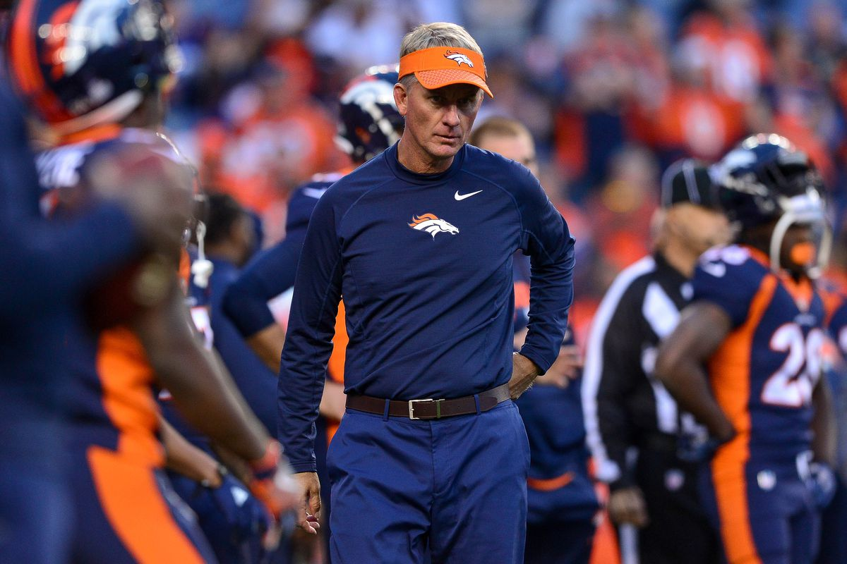 Broncos offensive coordinator Mike McCoy fired