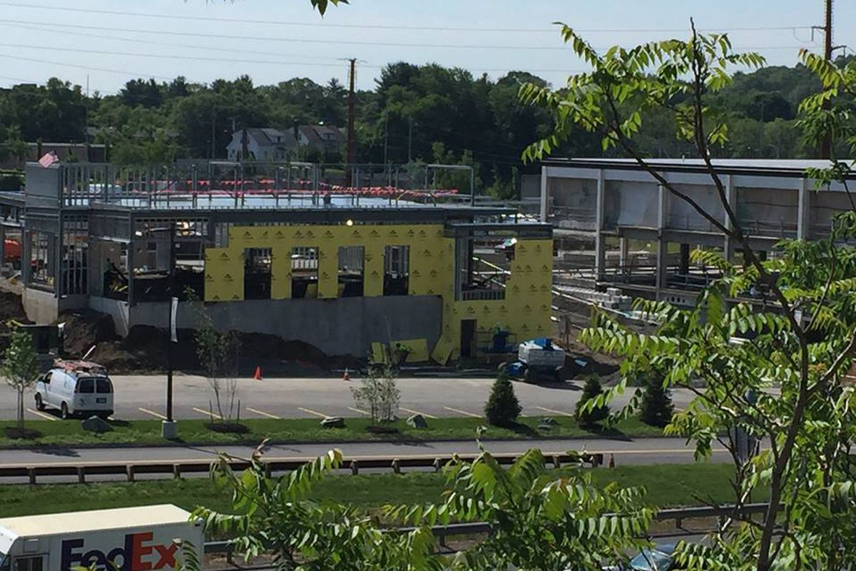 Flank, the New American Beefsteak being constructed in Waltham