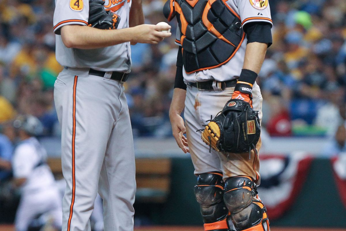 Let's hope Hammel doesn't need too many chats with Wieters today.