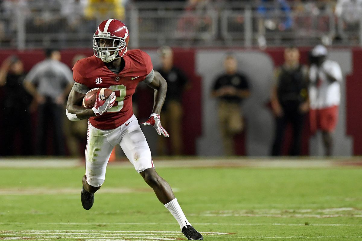 Nfl Draft Prospect To Know Calvin Ridley Wr Alabama Blogging The Boys