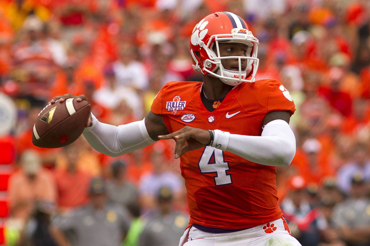Clemson is ranked No. 1 in a national poll for the first time since its national championship season.