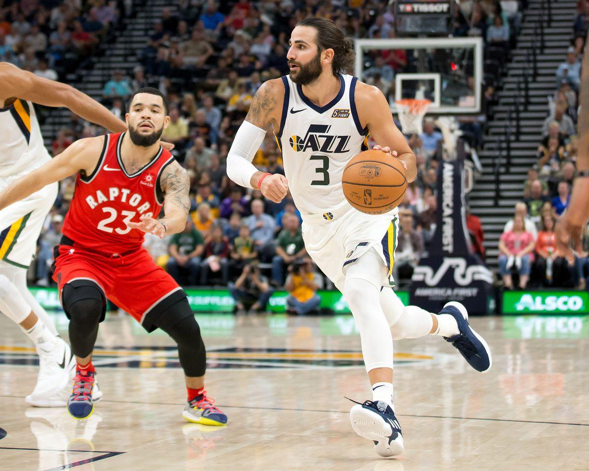 NBA: Preseason-Toronto Raptors at Utah Jazz
