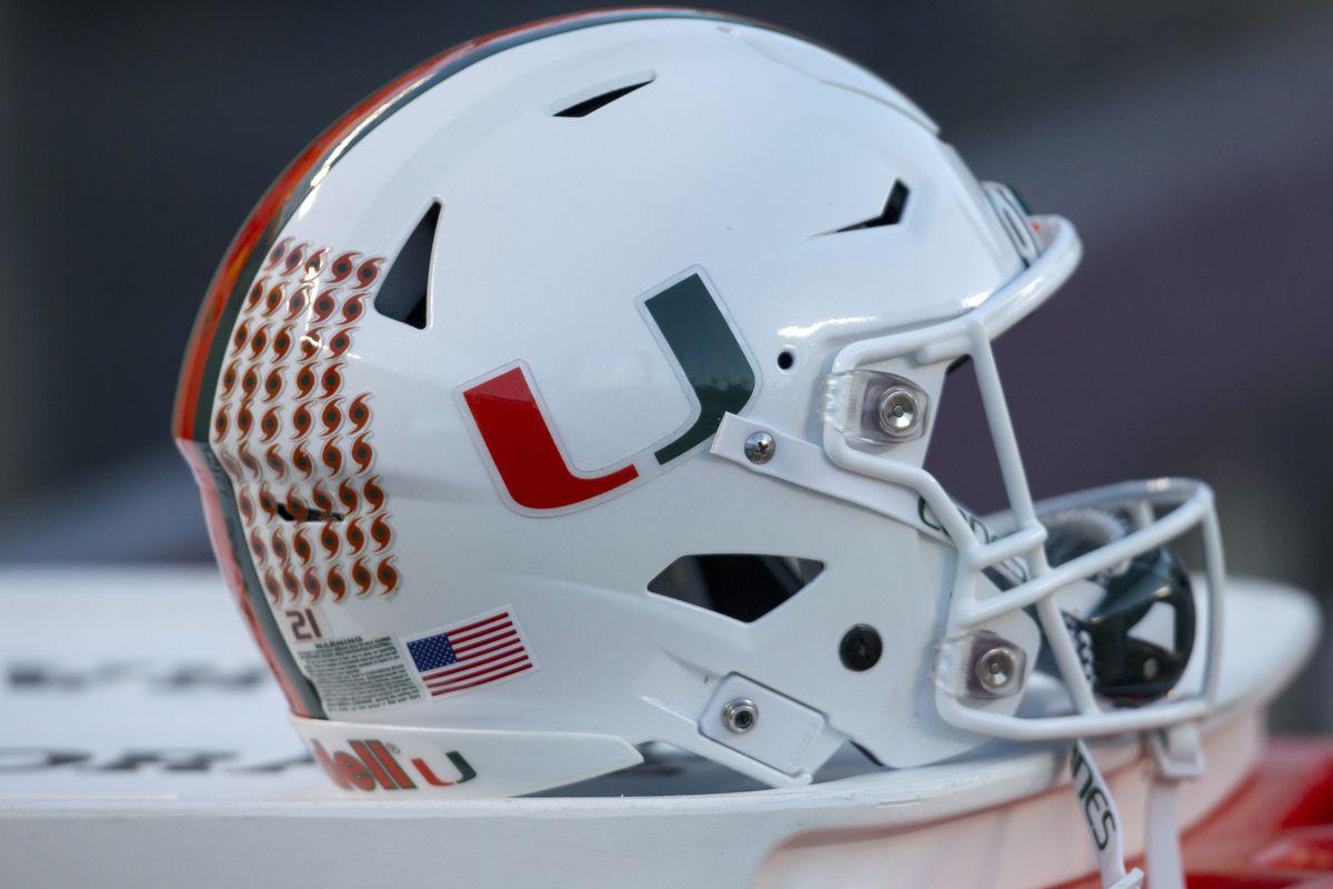COLLEGE FOOTBALL: NOV 17 Miami at Virginia Tech