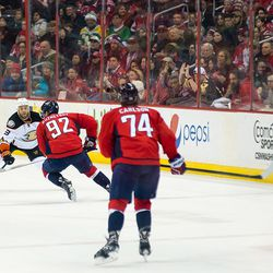 Kuznetsov With Puck in Air
