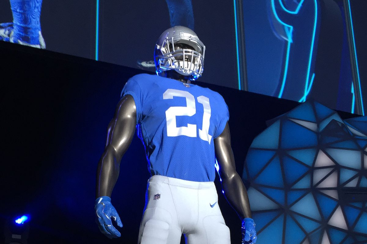 the latest 638d7 9ba6c New custom Detroit Lions jerseys now available for purchase ...