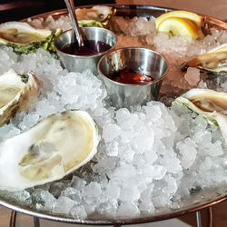 Oysters at Franklin Oyster House