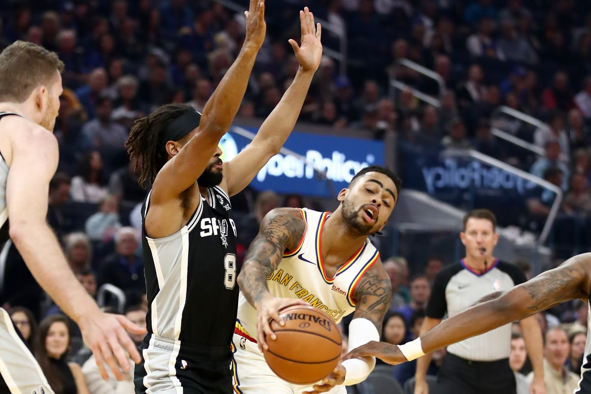 Is it time for D'Angelo Russell's first Warriors Wonder award?