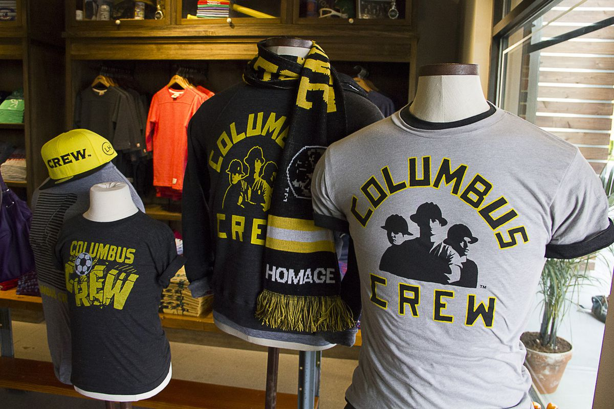 Homage and the Crew partner on new gear.
