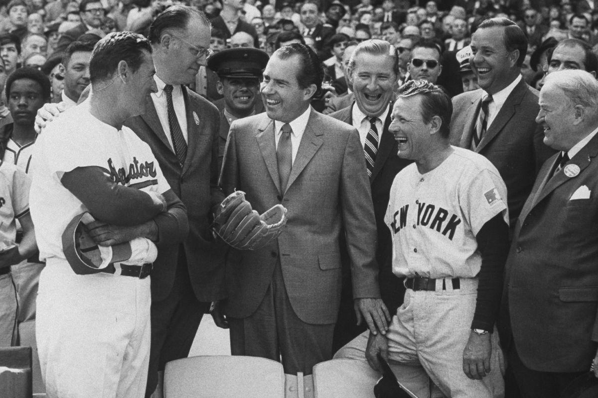 New York Yankees v Washington Senators