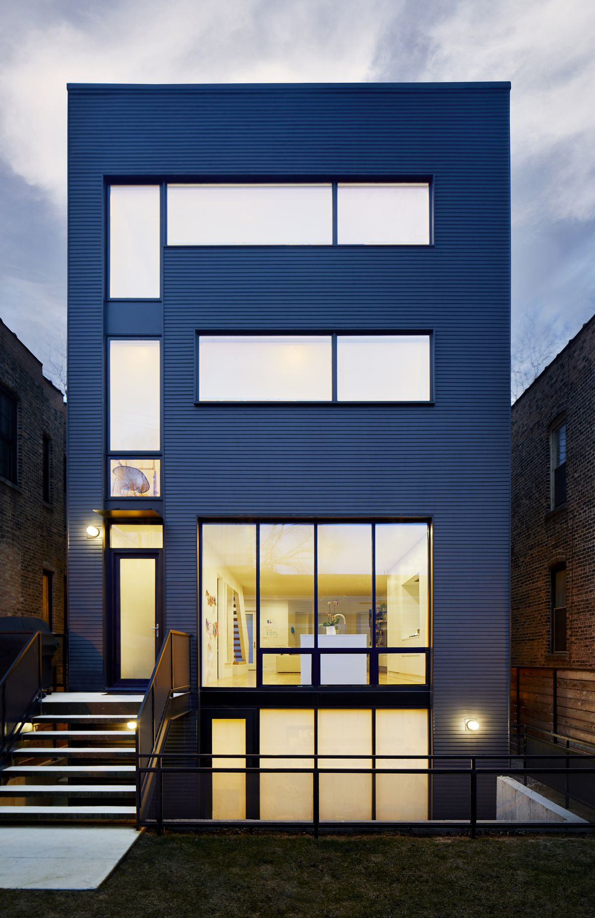 On Chicago S Southport Corridor Making A Modern Home 75