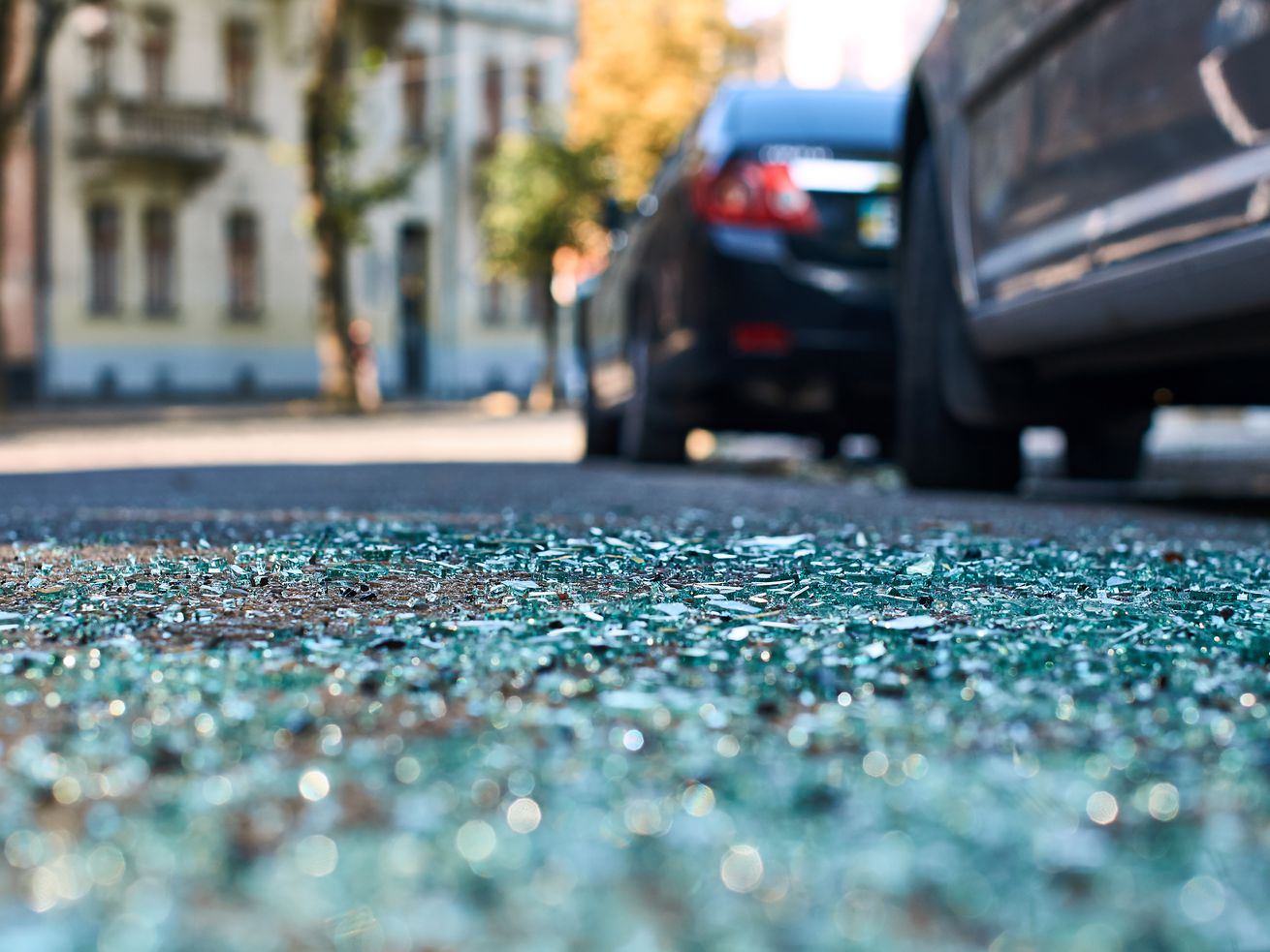 No one was injured when bullets shot out a vehicle window Oct. 21, 209.