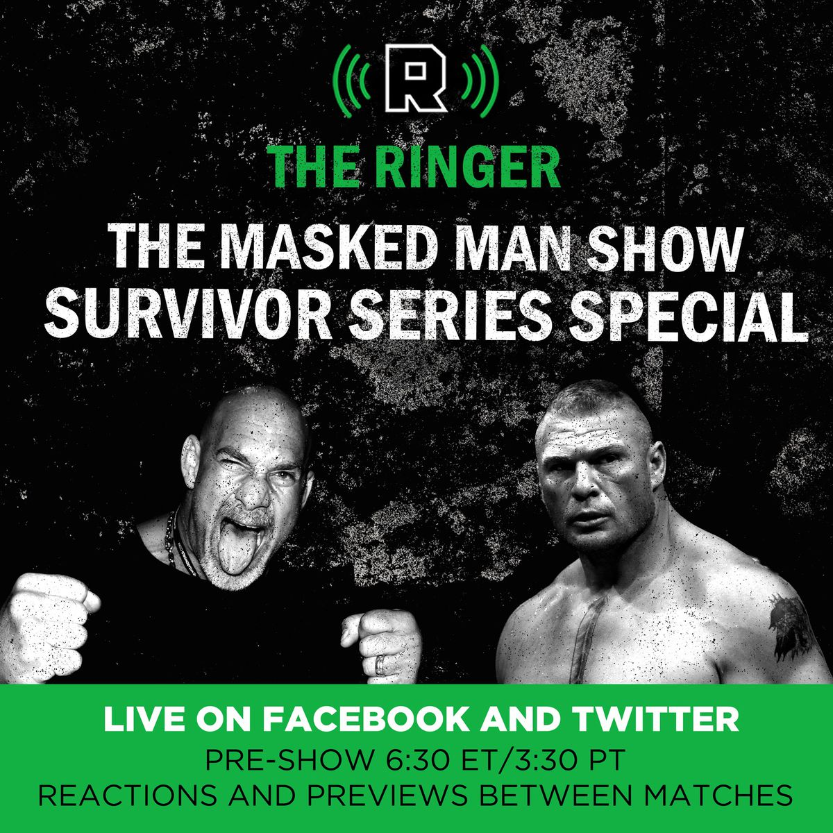"""Prepare for 'Survivor Series' with a special, live 'The Masked Man Show' with David Shoemaker before the event begins. Watch on <a href=""""http://facebook.com/ringer"""">Facebook</a> or<a href=""""http://twitter.com/ringer"""">Twitter</a>."""