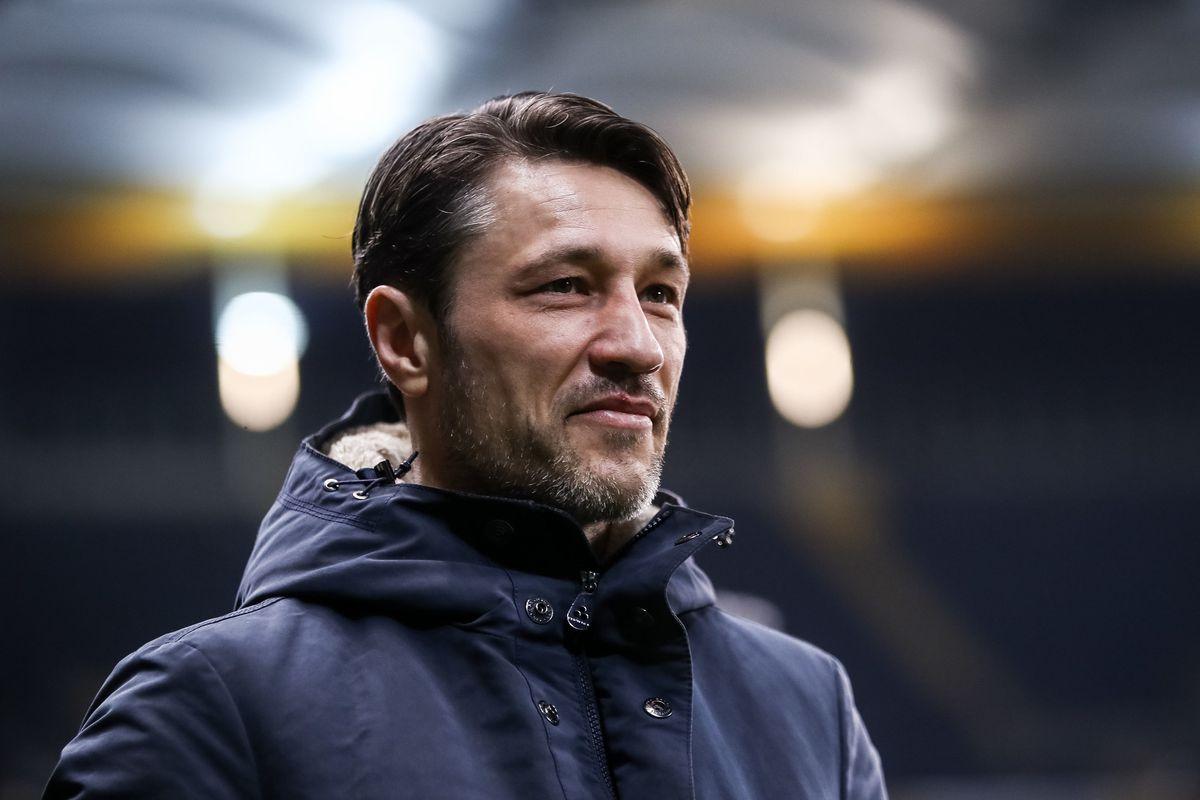 Frankfurt head coach Niko Kovac, 2018.