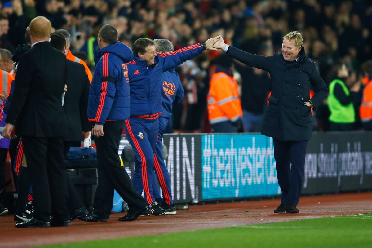 Family Time: The Koeman brothers celebrate a welcome Christmas present