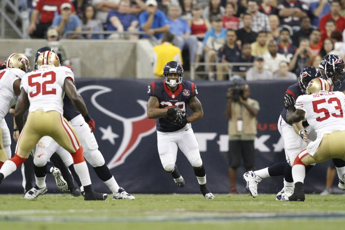 Not surprisingly, running back Arian Foster was selected first in the Phinsider Official Fantasy Football Draft.