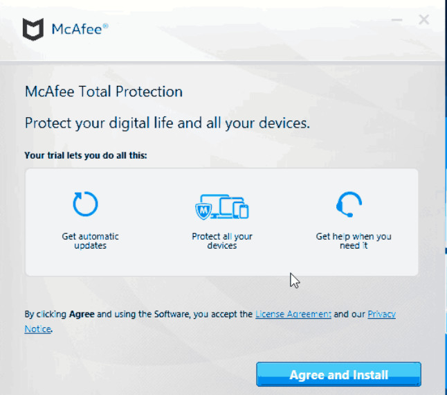 mcafee attack