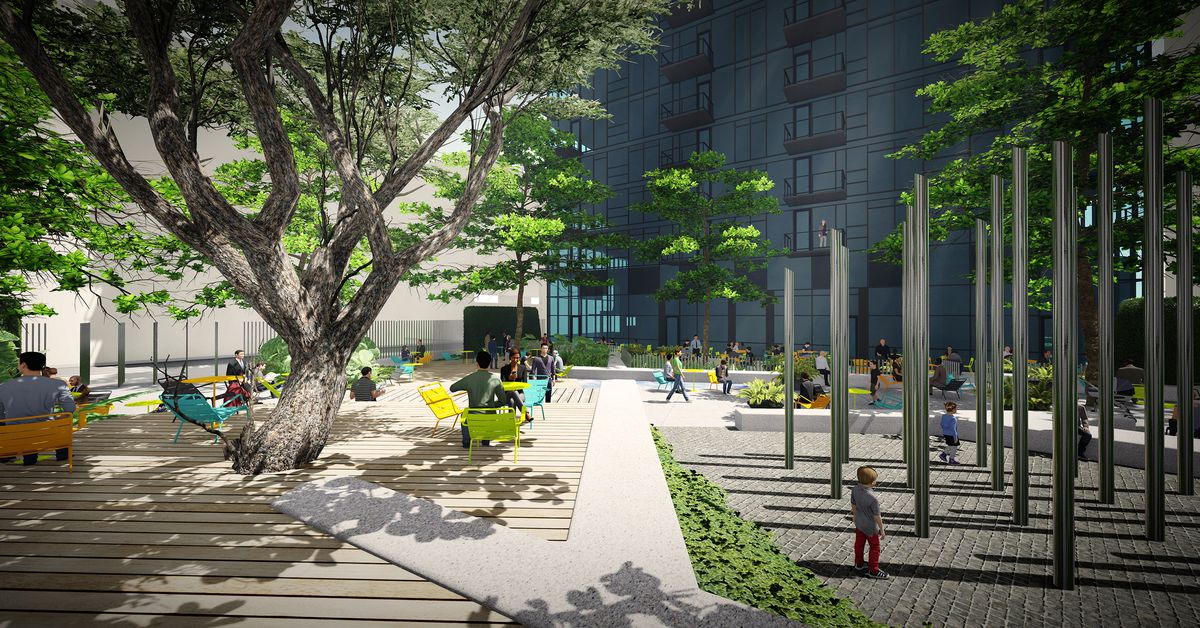 See plans for south park s new green space south grand for Terrace 59 austin