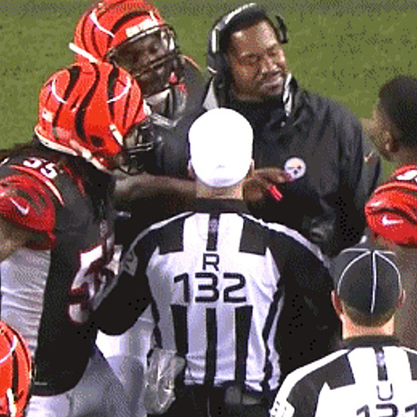 62a8367c90d The late penalty that doomed the Bengals was provoked by a Steelers coach  illegally on the field - SBNation.com