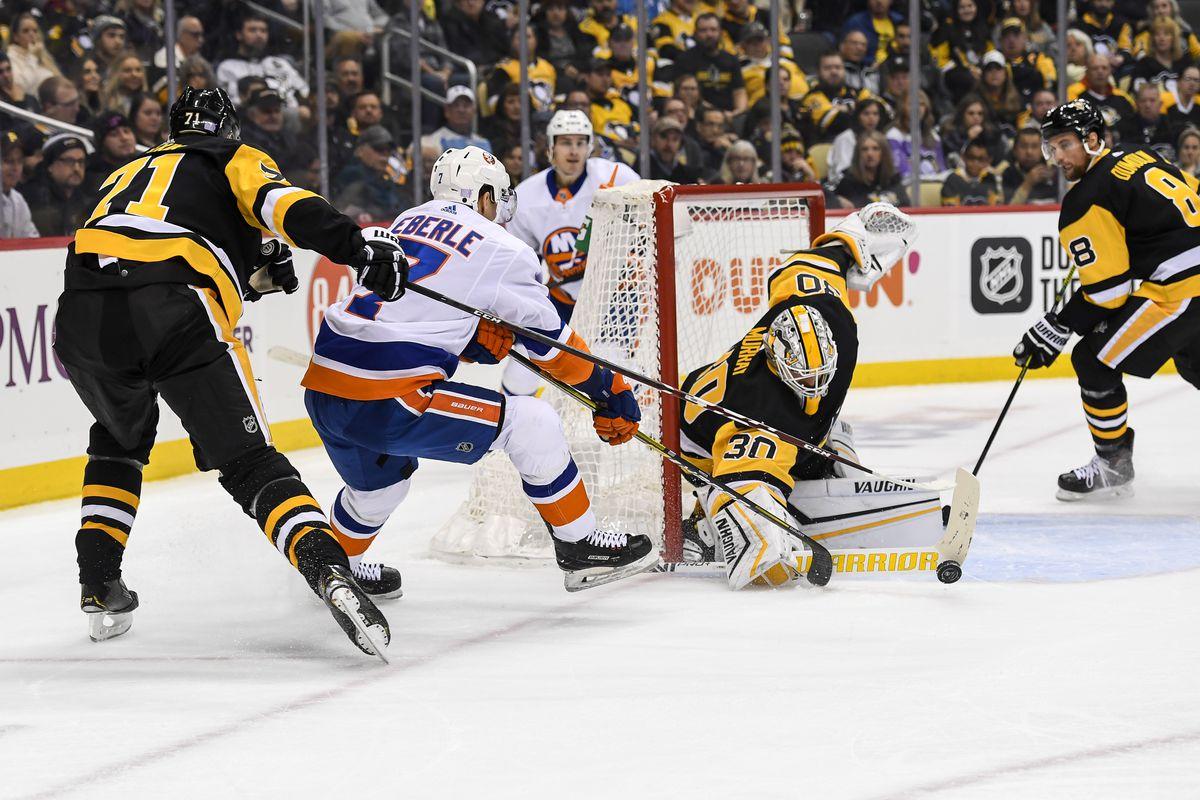 NHL: NOV 19 Islanders at Penguins