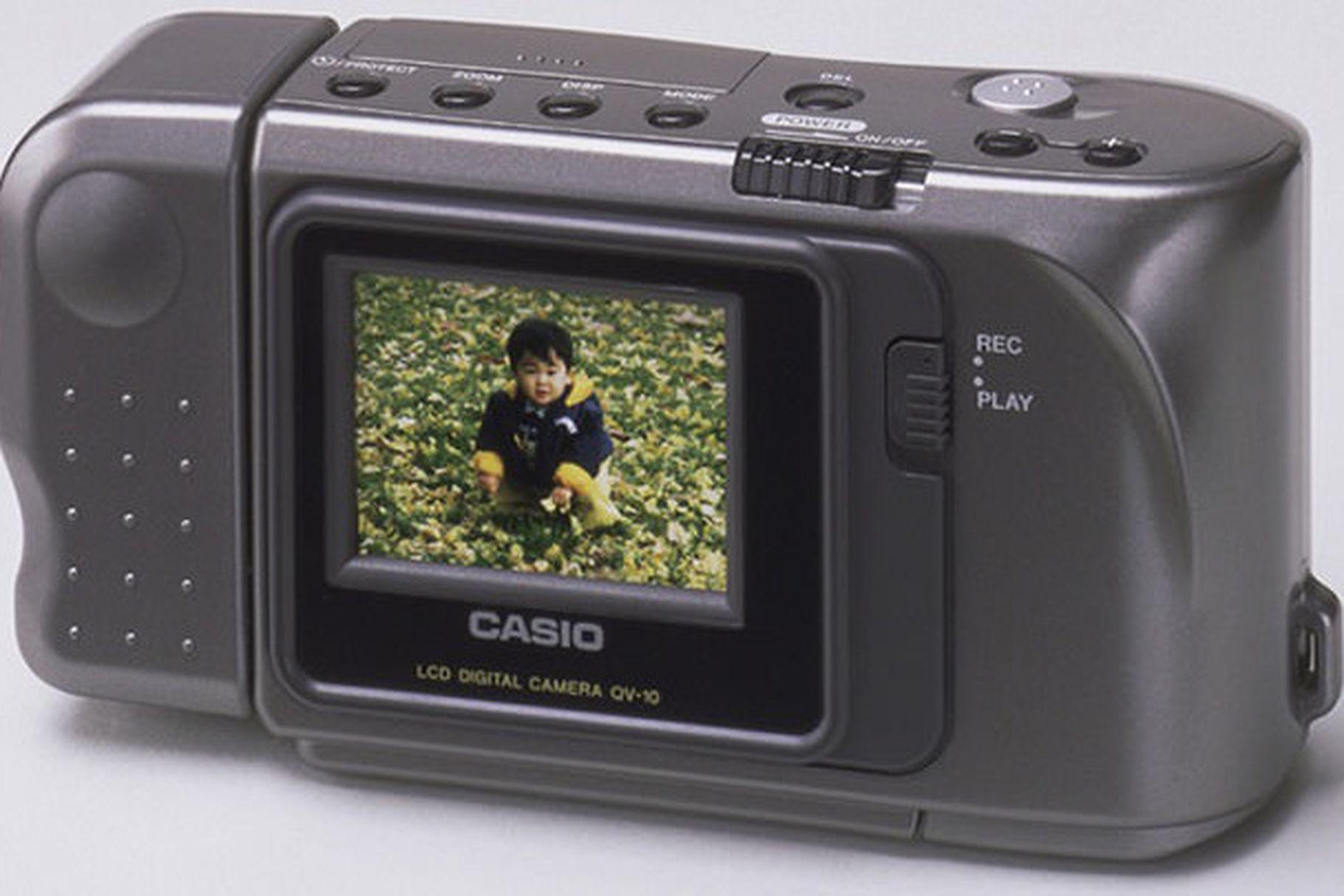 Casio digital camera 1995