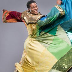 "Conlon Bonner (M/W/F cast) plays Joseph in Hale Centre Theatre's production of ""Joseph and the Amazing Technicolor Dreamcoat."""
