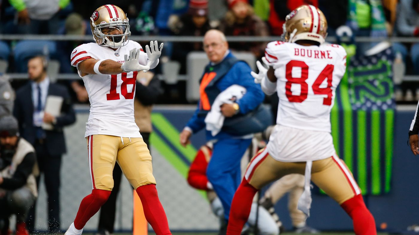 SI's wide receiver rankings: 49ers aren't high on the list
