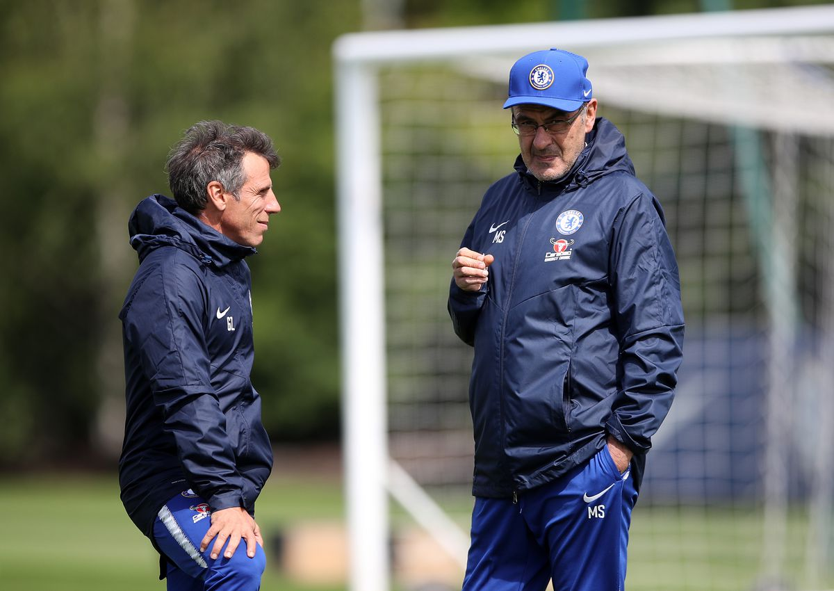 Chelsea Press Conference and Training Session - Cobham Training Ground
