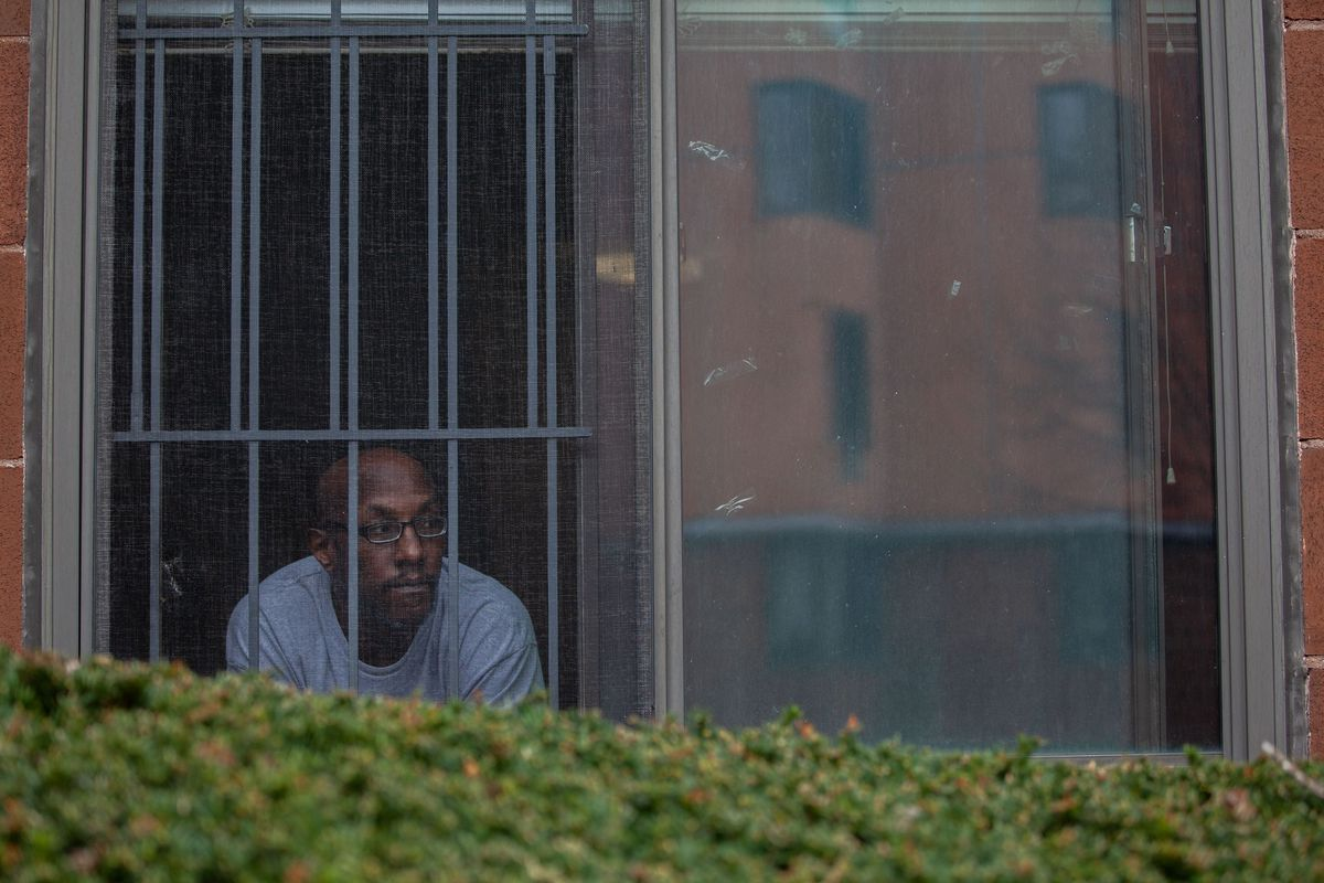 Joseph Friday was self-isolating in his West Farms, Bronx home after losing his mother and brother to the coronavirus.