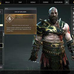 God of War Niflheim Nordic chest loot