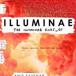 """""""Illuminae: The Illuminae Files No. 1"""" is by Amie Kaufman and Jay Kristoff."""