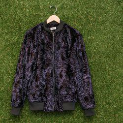 Nomia faux astrakhan bomber jacket, $720