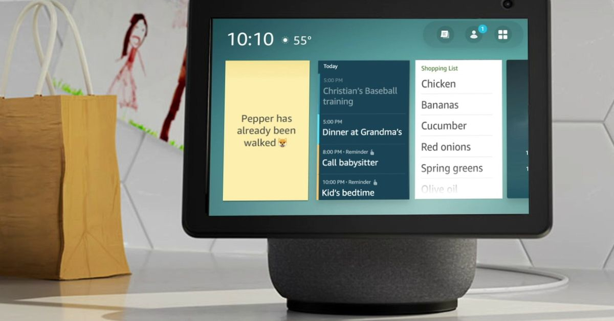 Amazon will let devs compete for your Echo Show's screen and everything else Alexa just added