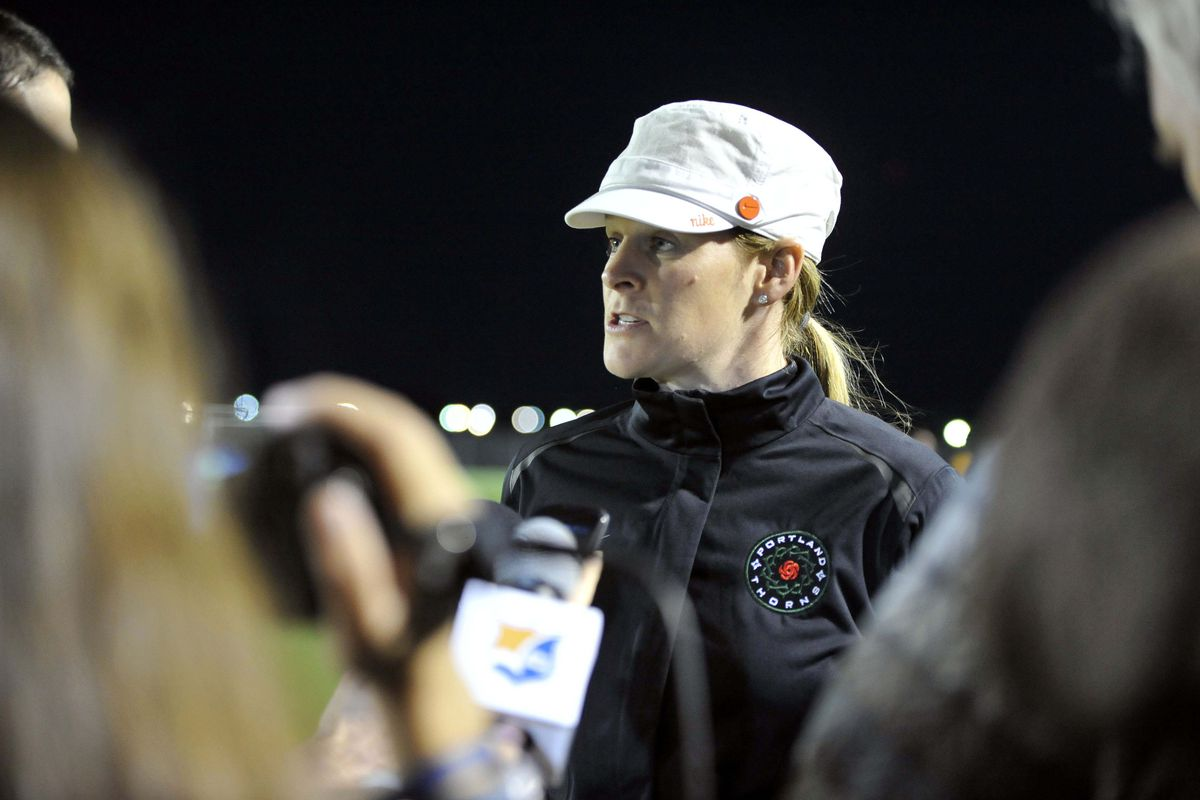 Cindy Parlow Cone remains tight-lipped about roster moves.