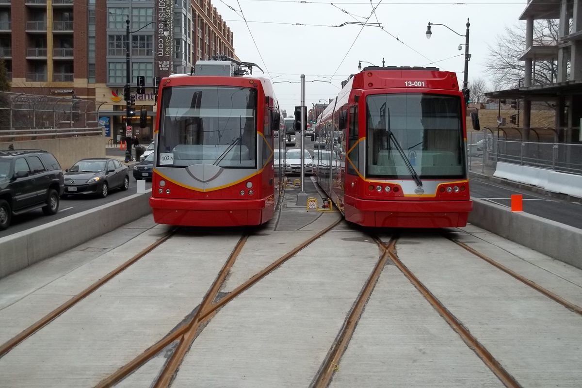 A streetcar named slower buses