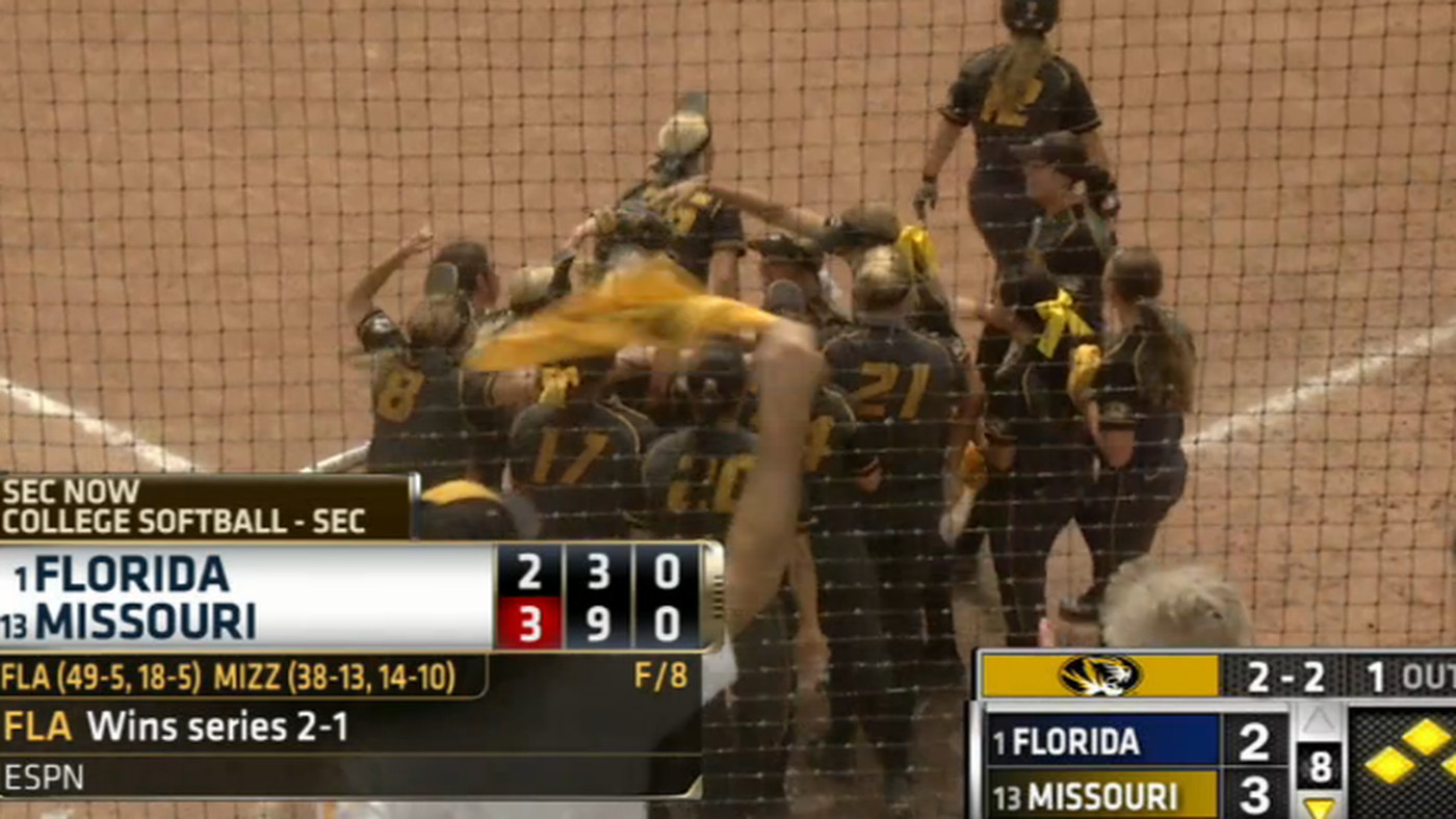 Mizzou Links: A softball walk-off, a baseball series win, SEC divisions, and the NFL Draft